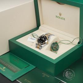 RO22464S Rolex Explorer 36 Bi-Metal Box