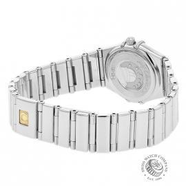 18013S Omega Ladies Constellation My Choice Mini Quartz Back 1