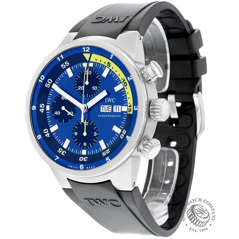 IWC Aquatimer Chrono Cousteau Divers Tribute to Calypso Ltd. Edition