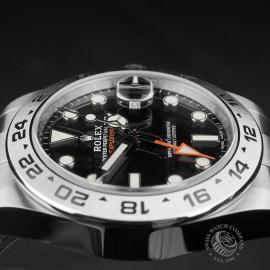 RO22408S Rolex Explorer II Orange Hand Close6