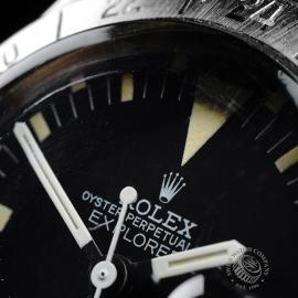 RO21776S Rolex Vintage Explorer II Orange Hand Close3