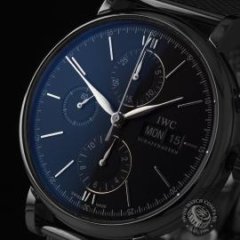 IW21825S IWC Portofino Chronograph Close1