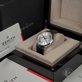 ZE22316S Zenith Captain Elite Dual Time Box