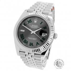 RO22173S Rolex Datejust 41 Unworn Back