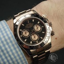 RO22239S Rolex Daytona Everose Gold Unworn Wrist 1