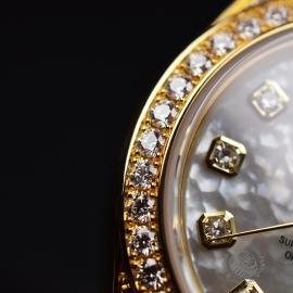 RO21016S Rolex Ladies Datejust 18ct Close8