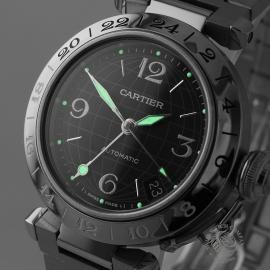 CA21322S Cartier Pasha GMT Close1