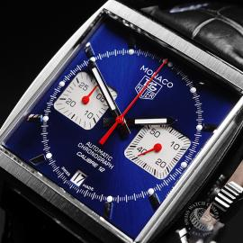 TA21853S Tag Heuer Monaco Calibre 12 Close3