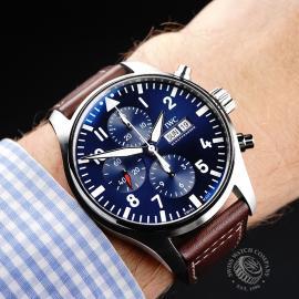 IW22045S IWC Pilots Chronograph 'Le Petit Prince' Edition Wrist