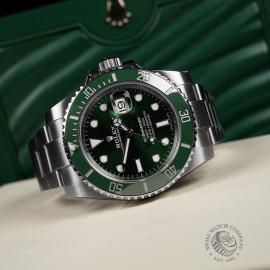 RO22274S Rolex Submariner Date Ceramic 'Hulk' Unworn Close10