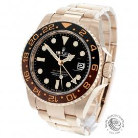 RO22050S Rolex GMT-Master II 18ct Everose Gold Back