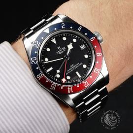 TU21766S Tudor Black Bay GMT Pepsi Bezel Wrist