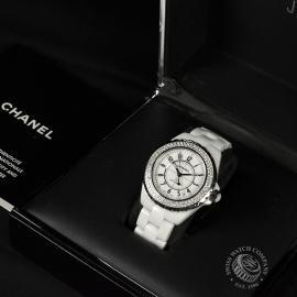 21380S Chanel J12 Box