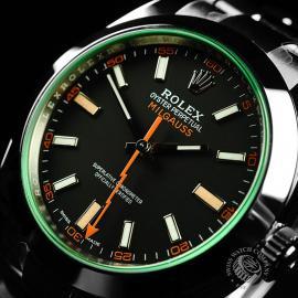 RO21986S Rolex Milgauss Unworn Close2