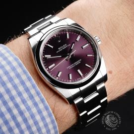 RO22071S Rolex Oyster Perpetual 34 Wrist 1