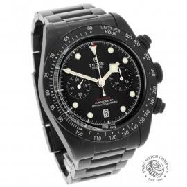 TU22227S Tudor Heritage Black Bay Chronograph Dark Dial