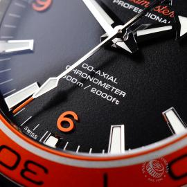 OM21969S Omega Seamaster Planet Ocean 600M Co-Axial Close4