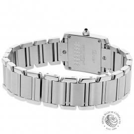 CA22133S Cartier Ladies Tank Francaise Small Model Back