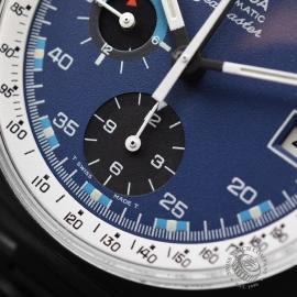 OM21085S Omega Vintage Seamaster Chronograph Calibre 1040 Close6