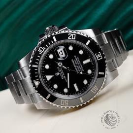 RO21778S Rolex Submariner Date Ceramic Close10