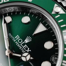 RO22172S Rolex Submariner Date Ceramic 'Hulk' Close4
