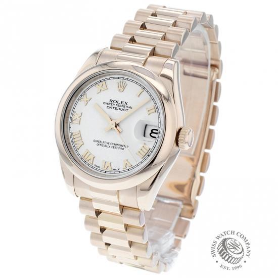 Rolex Ladies Datejust 18ct
