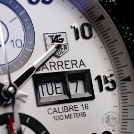 TA21840S Tag Heuer Carrera Calibre 16 Day Date Close5