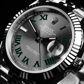 RO22173S Rolex Datejust 41 Unworn Close2