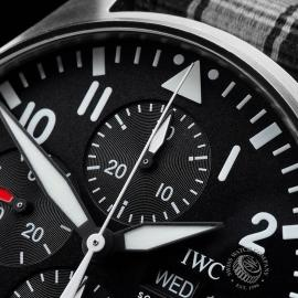 IW21663S IWC Pilots Chronograph Close3