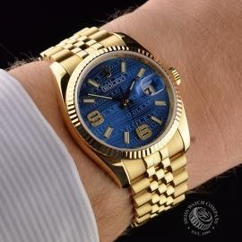 RO1816P Rolex Datejust 18ct Wrist