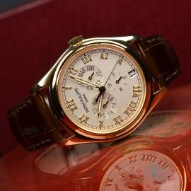 PK21281S Patek Philippe Annual Calendar 18ct Close5