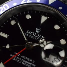 RO20324S Rolex GMT Master II - Stick Dial Close14