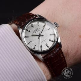 21473S Rolex Vintage Air King Wrist