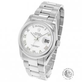 RO20089S Rolex Day Date 18ct White Gold Back