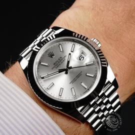 RO22716S Rolex Datejust 41 Wrist