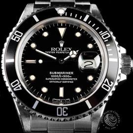 RO21827S Rolex Submariner Date Transitional Close 5