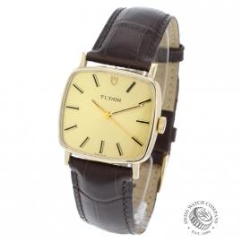 21456S Vintage Tudor Dress Watch 9ct Back