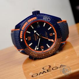 OM21772S Omega Seamaster Planet Ocean GMT 'Big Blue' Close10
