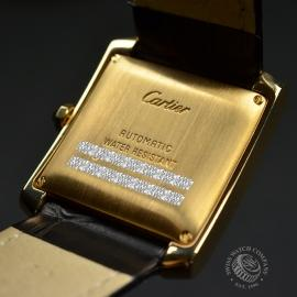 CA21253S Cartier Tank Francaise Mid Size18ct Close10