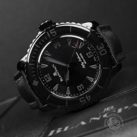 BL19823S Blancpain Black Knight Fifty Fathoms Automatic Close10