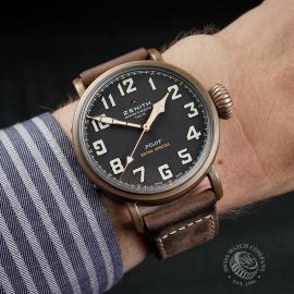 ZE22520S Zenith Pilot Type 20 Extra Special Bronze Wrist