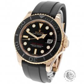 RO22598S Rolex Yachtmaster Everose Gold Back