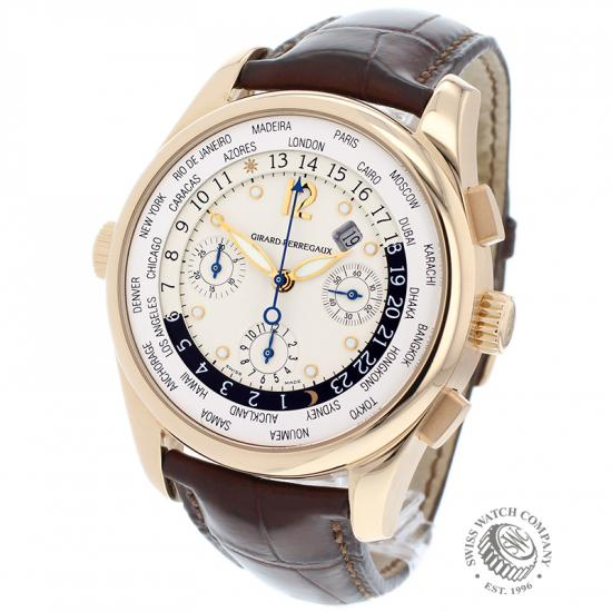Girard Perregaux World Time Chronograph 18ct