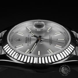 RO22357S Rolex Datejust 41 Unworn Close6