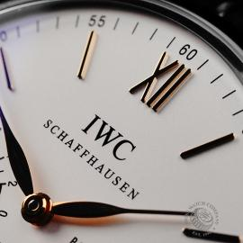 IW22079S IWC Portofino Hand-Wound Eight Days Close3