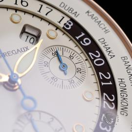 GP22191S Girard Perregaux World Time Chronograph 18ct Close5