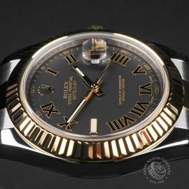 RO22735S Rolex Datejust II Close9