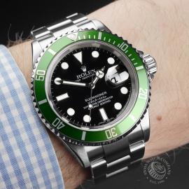 RO22411S Rolex Submariner Date 50th Anniv Wrist 1