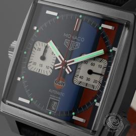 Tag Heuer Monaco Calibre 11 Gulf Limited Edition Close1