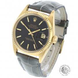 RO-646F Rolex Datejust 18ct Back